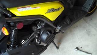 6. Yamaha Zuma BWs 125 Mysterious Exhaust Bung