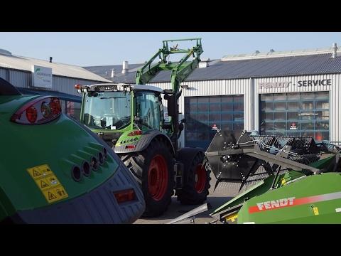 XXXLandtechnikTage\u202c bij Agravis Technik in Meppen  voorbereidingen mechashow Trekkerweb (видео)