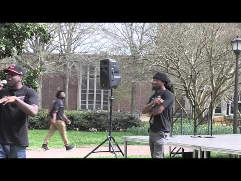 Scene@W&M: Waller '13 and Taylor '13 rap
