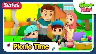 Video [SERIES] Omar & Hana | Picnic Time | Islamic Cartoon for Kids | MP3, 3GP, MP4, WEBM, AVI, FLV Juli 2019