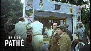 Eyam United Kingdom  City pictures : Eyam Floral Tribute To The Plague Aka Eyam Well-Dressing (1965)