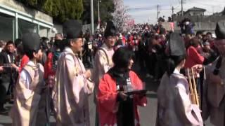 田縣神社 豊年祭(3) 神輿行列御旅所出発