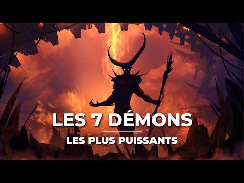 LES 7 DÉMONS LES PLUS PUISSANTS