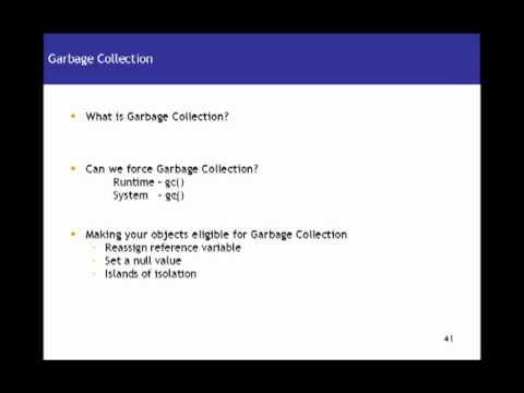 Java Tutorial 10 – Java Garbage Collection