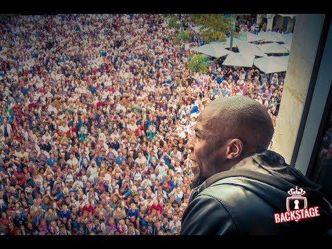 BEHIND THE GAMES - Sidibé, dans les pas du Champion...