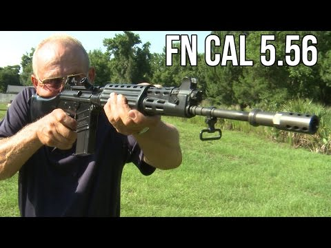 RARE Full Auto FN CAL Assault Rifle! 5.56 FAL prototype (Unicorn Guns with Jerry Miculek)