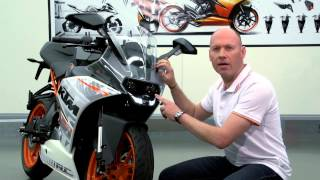 9. KTM RC 390 first look review - Features and Benefits