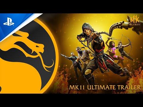 Mortal Kombat 11 Ultimate   Bande-annonce de lancement   PS5, PS4
