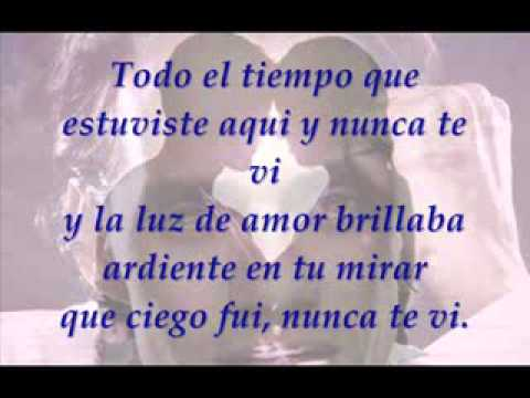 MUY DENTRO DE MI (YOU SANG TO ME) LETRA Marc Anthony