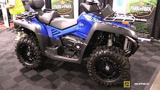 10. 2016 CFmoto CForce 800 EFI Recreational ATV - Walkaround - 2015 Toronto ATV Show