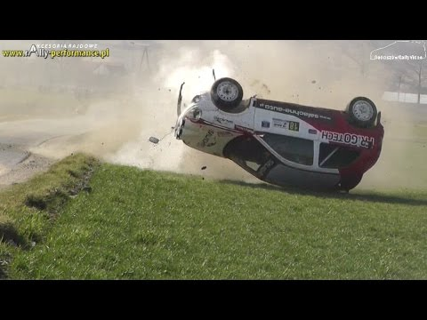 Best of Rally Crash 2014 by RosciszowRallyVideo