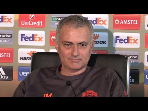 Jose Mourinho Full Pre-Match Press Conference - Manchester United v St-Etienne - Europa League (видео)