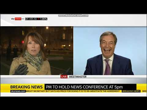 Nigel Farage Easily Outwits  Kay Burley | Sky News