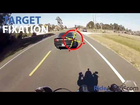 Target fixation - great video about it for motorcyclists, drivers and cyclists