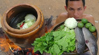 Video Primitive Technology: Fishing Big Fish and Cook in Water Tank Eating Delicious MP3, 3GP, MP4, WEBM, AVI, FLV Juli 2018