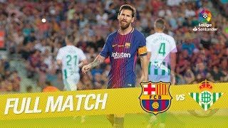 Video Full Match FC Barcelona vs Real Betis LaLiga 2017/2018 MP3, 3GP, MP4, WEBM, AVI, FLV April 2019