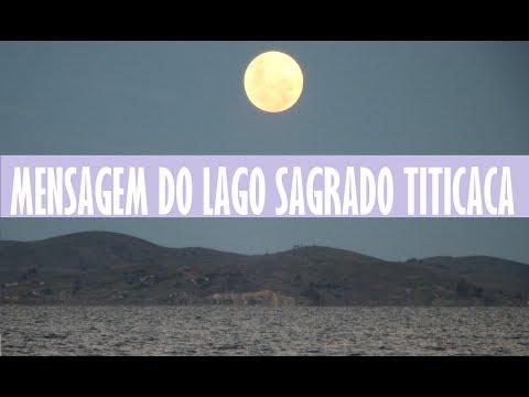Alcione Giacomitti: Mensagem de reflexão do Lago Sagrado Titicaca