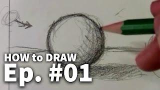למד לצייר שיעור 1
