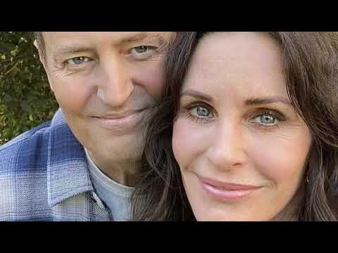 Courteney Cox delights Friends fans by posting selfie with Matthew Perry to Instagram