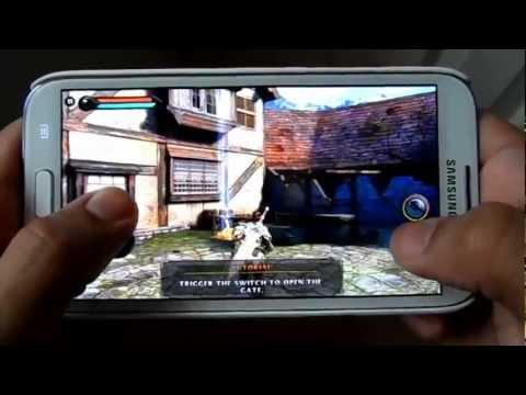 BEST GRAPHICS GAMES ON SAMSUNG GALAXY NOTE 2 N7100 REVIEW 3