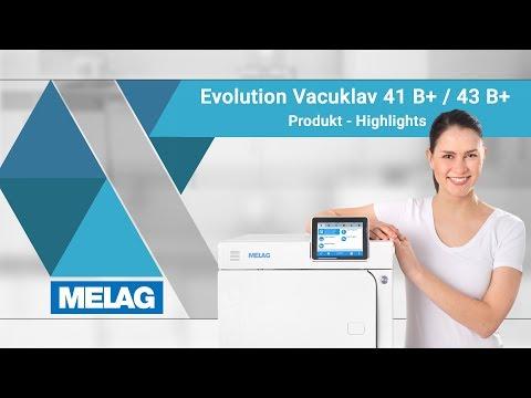 Autoklav Klasse B : Vacuklav 41 B+ und 43 B+ Evolution