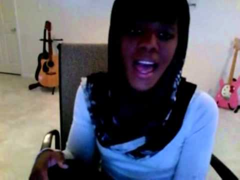 AaliyahDawnTEAM - Dawn Sings a record she wrote called