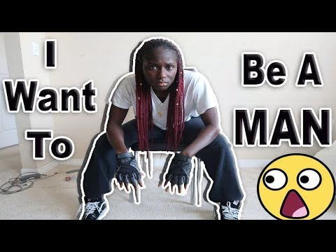 I Want To Be A Man Prank!!!