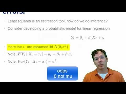 01 05 Part 1 of 3 Statistical Linear Regression Models