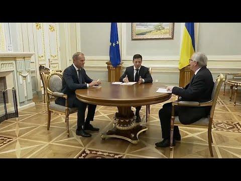 Ukraine/EU: Juncker und Tusk sichern Unterstützung geg ...