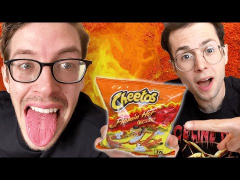 The Try Guys Ultimate Spicy Snacks Taste Test