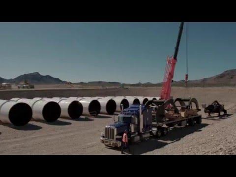時速高達1450公里的超高速鐵路露天首測成功,914公尺僅需1.9秒!