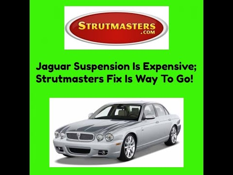 Jaguar Commercial For Strutmasters
