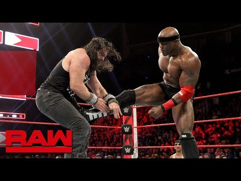 Elias Vs. Bobby Lashley - Winner Joins The Raw Men's Survivor Series Team: Raw, Nov. 12, 2018