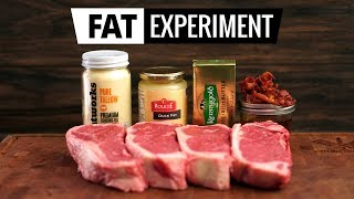 Video FAT EXPERIMENT - Searing Steaks with Butter, Beef, Duck & Bacon FAT! MP3, 3GP, MP4, WEBM, AVI, FLV November 2018