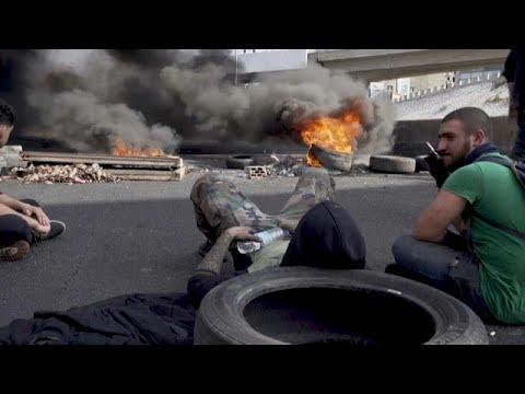 Crise économique au Liban : des routes bloquées pour manifester la colère
