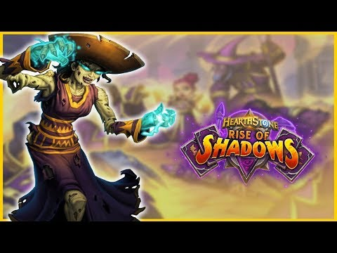 New Resurrect Priest | Rise Of Shadows | Hearthstone