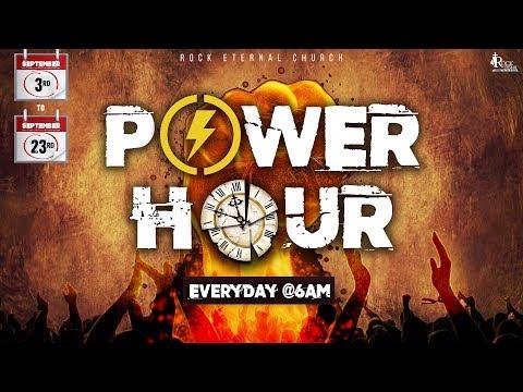 ROCK ETERNAL CHURCH | POWER HOUR | 21.09.2018 | DAY 19 | 06:00 - 07:00 AM | Ps. Reenukumar