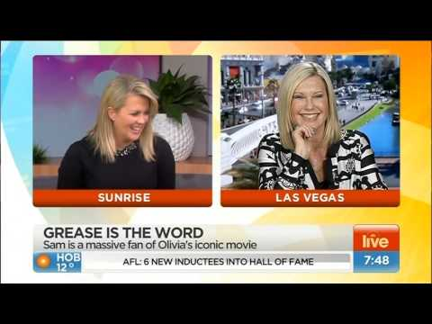 Olivia Newton-John - Sunrise interview June 2015