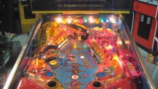 Super Mario Bros. Mushroom World Pinball Machine Gottleib System 3