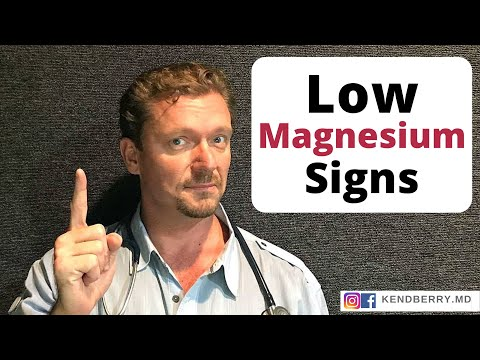9 Signs of Magnesium Deficiency You Should Know (2018 Update) (видео)
