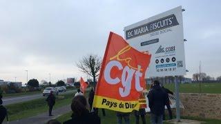 Taden France  city photo : Loc Maria. Les salariés font la grève