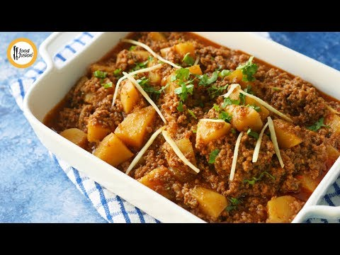 Dhaba Style Aloo Keema Recipe By Food Fusion