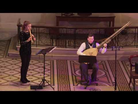 See video  Johann Sebastian Bach - Sinfonias BWV 156 & 35
