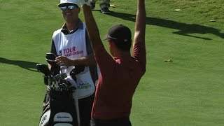 Si Woo Kim's dramatic finish on No. 18 at the TOUR Championship by PGA TOUR