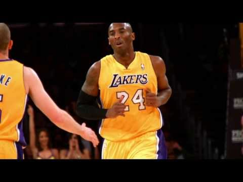 Kobe Bryant's First Dunk of the Season in Slow-Mo