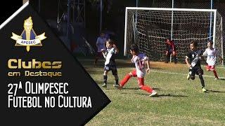 Olimpesec – Futebol no Cultura 18/08/2015