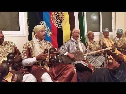 "Lila Màalam Fathalah Chawki -'_Jilala_-"" & Gnawa Oulad Bambra"