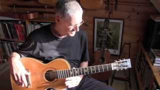daddystovepipe talks about his parlor guitars (Stella and Supertone)