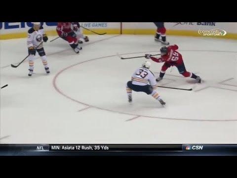 Video: Burakovsky goes top-shelf after curl and drag