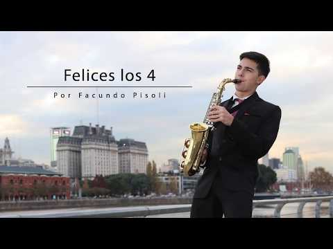 Video #FelicesLos4 - Facundo Pisoli / Maluma / Sax 🎷 download in MP3, 3GP, MP4, WEBM, AVI, FLV January 2017